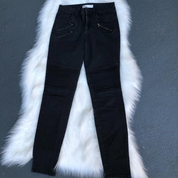 💝 Zara black motto jeans